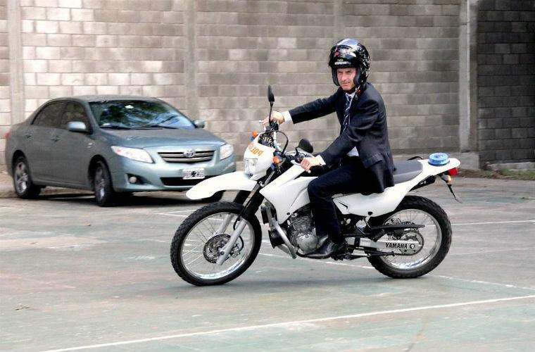 Moto como medio de transporte