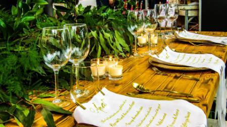 Organizar fiesta de boda