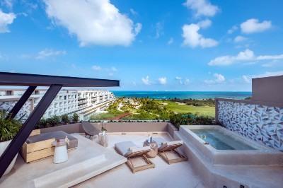 Hotel de lujo en Cancún