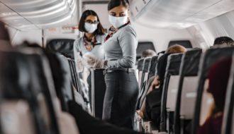 Funciones de una azafata de vuelo